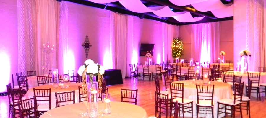 Find the theme of your dreams at The Hamilton Event Center