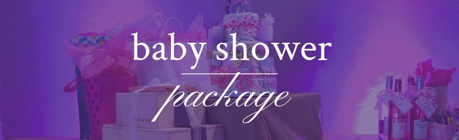 Baby Shower Party Package